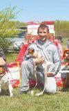 В Ставрополе состоялась 6-я окружная выставка охотничьих собак