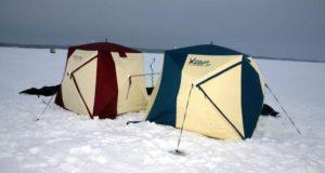 Преимущества палаток для зимней рыбалки Снегирь