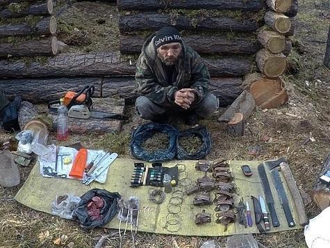 Пойманный охотник. Фото: Саяно-Шушенский заповедник