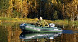 Топ 4 ПВХ лодок для рыбалки и охоты