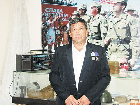 Ф.М. Хабибов, председатель правления МОО «Октябрьское ГООиР», ветеран боевых действии вАфганистане, депутат городского совета. Фото Геннадия Агапитова.